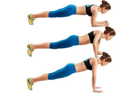 high to low plank